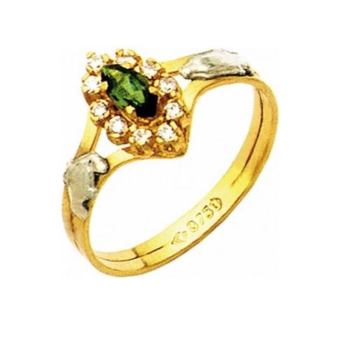 Anel de Formatura em Ouro 18k/750 com Diamante ANF03