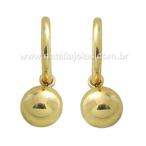 Brinco de Ouro 18k/750 BR54