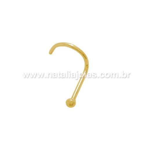 Piercing de Nariz em Ouro PC09