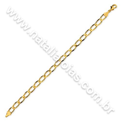 Pulseira de Ouro 18k/750 PL19