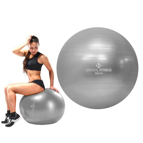 Bola Suíça para Pilates e Ginástica 65cm - Natural Fitness