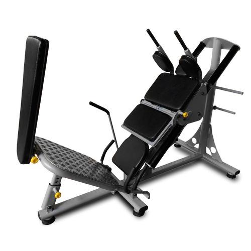 Aparelho Hack com Leg Conjugado - Treinamento Livre - Natural Fitness