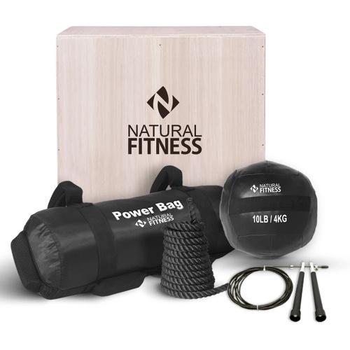 Kit Cross Training em Casa - Natural Fitness
