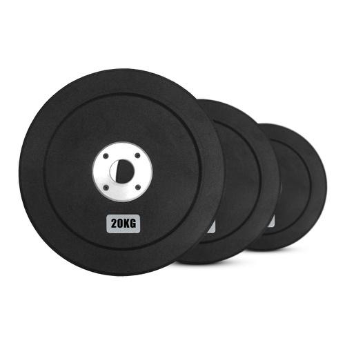 Kit Anilhas Olímpicas Natural Fitness 20kg - Natural Fitness