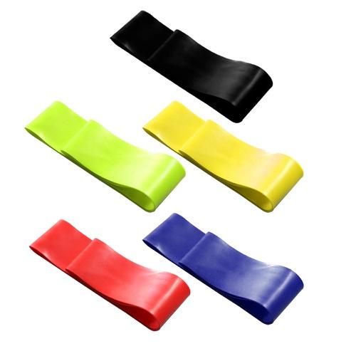 Kit 5 Elásticos Mini Band Faixa de Exercícios - Natural Fitness