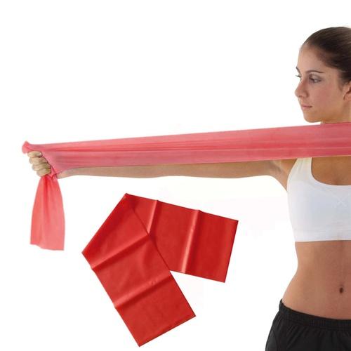 Faixa Elástica Pilates e Fisioterapia Funcional Thera Band leve