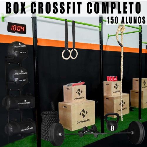 Box de Cross Training Completo para treino de até 150 Alunos - Natural Fitness
