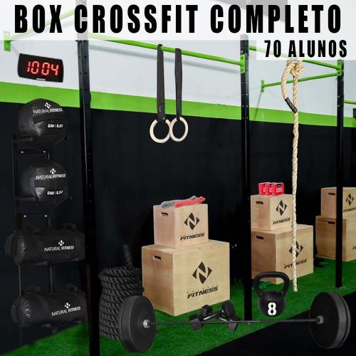 Box de Cross Training Completo para treino de até 70 Alunos - Natural Fitness