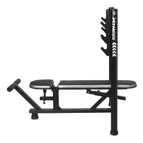 Aparelho Banco de Supino Reto e Inclinado para Musculação - Natrus - Natural Fitness