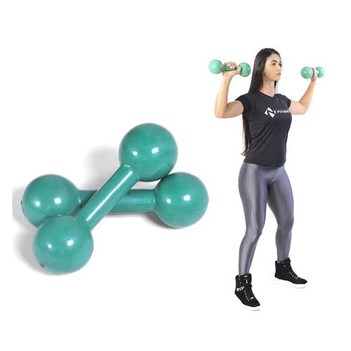 Peso Halter Emborrachado 5kg De Academia De Musculação