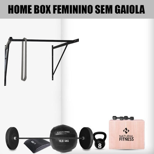 Home Box Cross Training Feminina sem Gaiola - Natural Fitness
