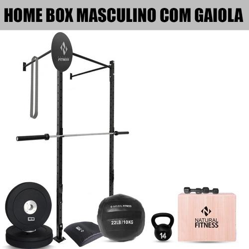 Home Box Cross Training Masculino com Gaiola - Natural Fitness