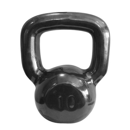 Kettlebell Emborrachado 10 KG - Natural Fitness