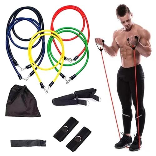 Kit com 5 Elásticos Para Exercícios