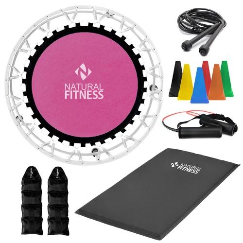 Kit Ginástica em Casa - Queima e Definição Muscular - Natural Fitness