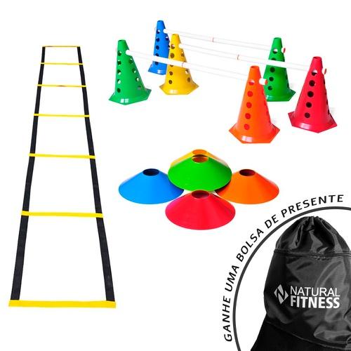 Kit Funcional Agilidade 3 - 20 Itens - Natural Fitness