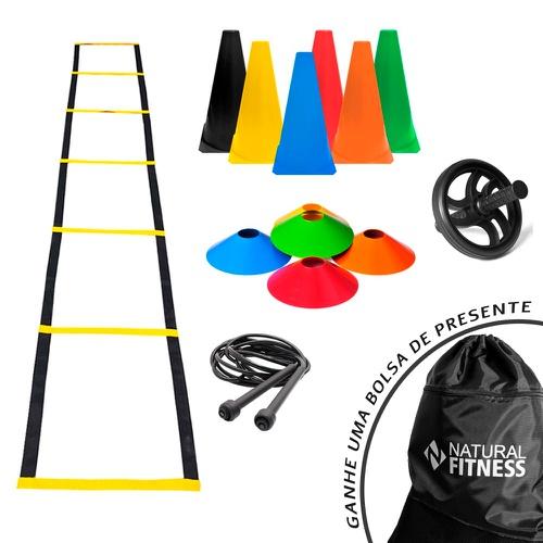 Kit Funcional Agilidade 4 - 23 Itens - Natural Fitness