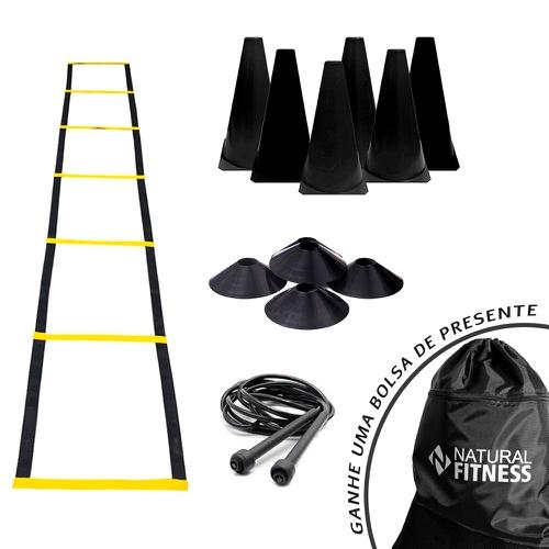Kit Funcional Agilidade 8 - 22 Itens - Natural Fitness