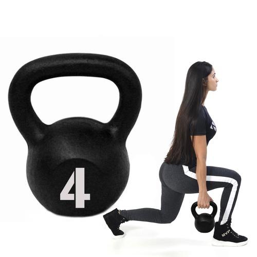 Kettlebell Pintado 4kg - Natural Fitness
