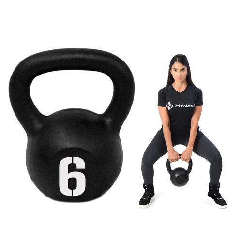 Kettlebell Pintado 6kg - Natural Fitness