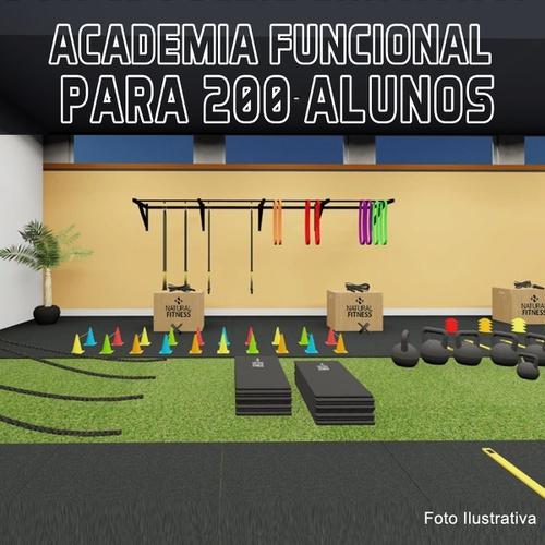 Academia de Treino Funcional Para 200 Alunos/Mês - Natural Fitness