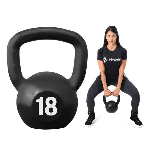 Kettlebell Pintado 18kg - Natural Fitness