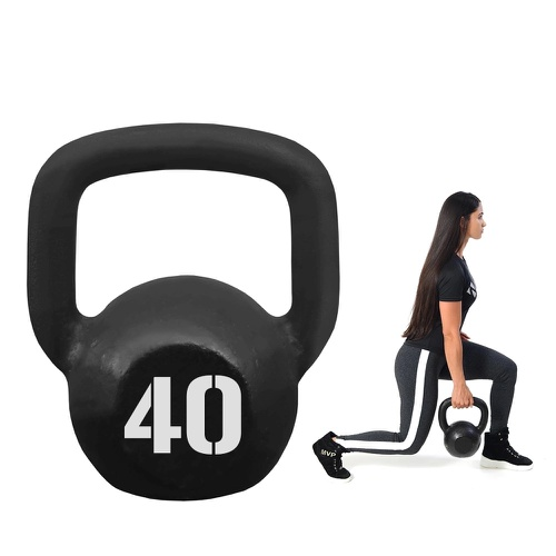 Kettlebell Pintado Ferro 40kg Para Academia de Crossfit