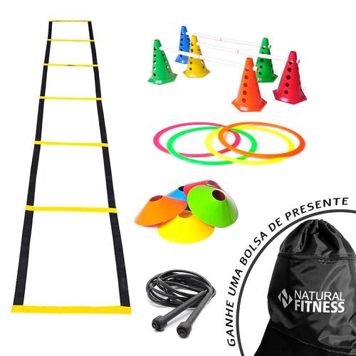 Kit Funcional Agilidade 5 - 25 Itens - Natural Fitness
