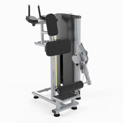 A vantagem em utilizar o aparelho é a maior estabilidade que ele oferece ao corpo, além de isolar melhor a musculatura trabalhada.