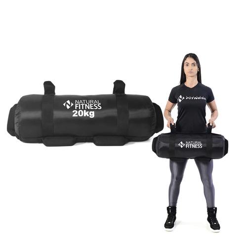 Power Bag Fitness de 20kg Para Treinamento de Força