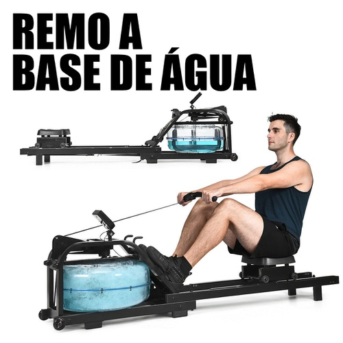 Remo Aquático Simulador Resistência Água - Natural Fitness