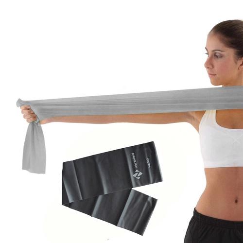 Faixa Elastica - (Intensidade Média) Pilates e Fisioterapia (Tipo Thera Band) - Natural Fitness