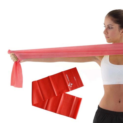 Faixa Elástica - (Nível Leve) Pilates e Fisioterapia (Thera Band) - Natural Fitness