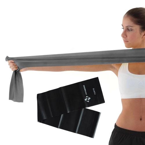 Faixa Elastica - (Nível Forte) Pilates e Fisioterapia (tipo Thera Band) - Natural Fitness