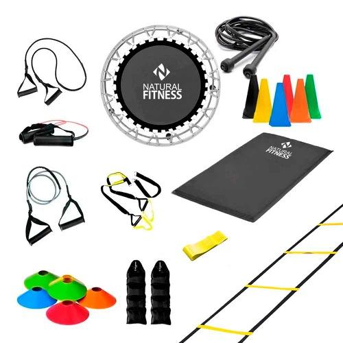 Kit Ginástica em Casa - Treinamento Total - Natural Fitness