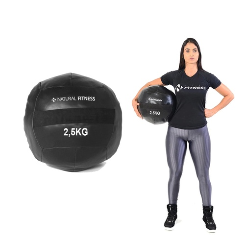 Wall Ball 2,5 kg Natural Fitness - Natural Fitness