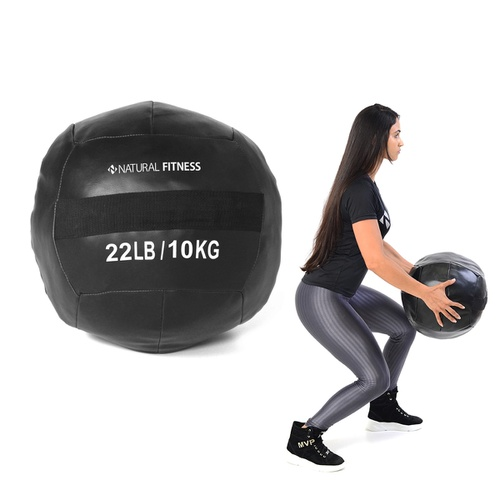 Wall Ball 10 kg Natural Fitness - Natural Fitness