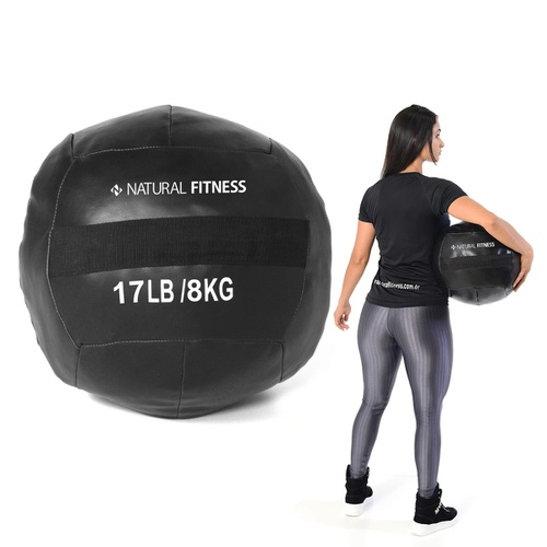 Wall Ball 8 kg Natural Fitness - Natural Fitness