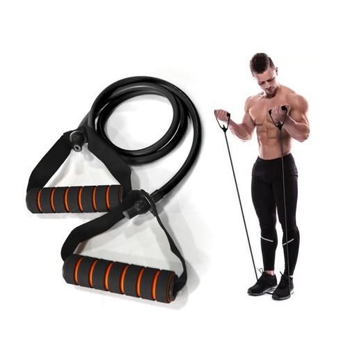O ELÁSTICO é um acessório perfeito para treinos de condicionamento físico, força e fortalecimento.