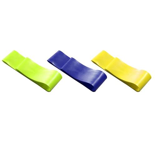 Kit 3 Elásticos Mini Band Faixa de Exercícios Academia Pilates