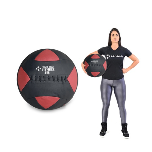 Wall Ball 4 kg Natural Fitness - Natural Fitness
