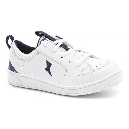 Tênis infantil - 1001/05 - Branco e azul - NATURAL STEP