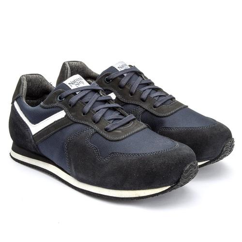 Tênis terapêutico masculino 7001/04 - Azul - NATURAL STEP