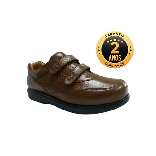 Sapato masculino para pés diabéticos - Ângelo - Ma... - NATURAL STEP