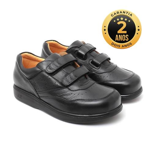 Sapato masculino para pés diabéticos - Ângelo cor ... - NATURAL STEP