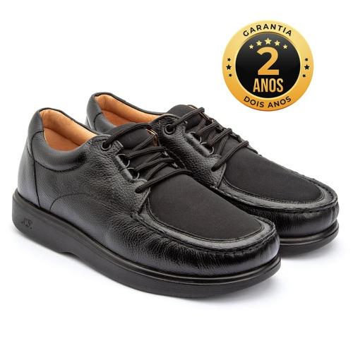 Sapato masculino - Daniel - Preto - NATURAL STEP