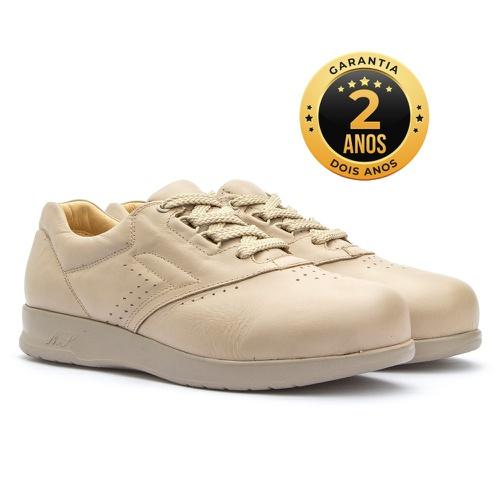 Sapato feminino para pés diabéticos - Gabriela - P... - NATURAL STEP