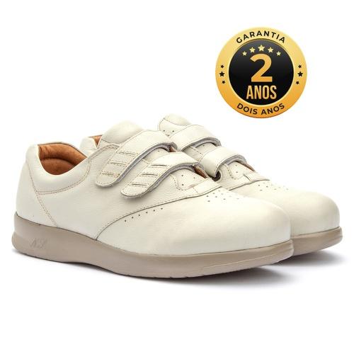 Sapato feminino para pés diabéticos - Ginna - Palh... - NATURAL STEP
