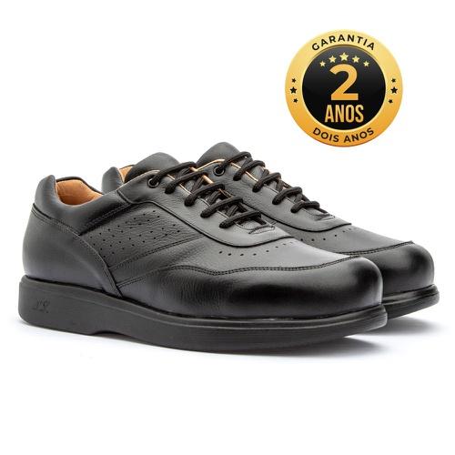 Sapato masculino - Michael - Preto - NATURAL STEP
