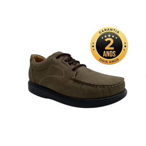 Sapato masculino para pés diabéticos – Palermo - C... - NATURAL STEP